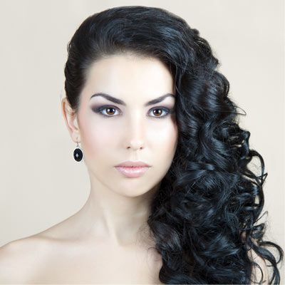 Curly Prom Hairstyles For Long Hair To The Side Long Hair Styles Prom Hairstyles For Long Hair Curly Hair Styles