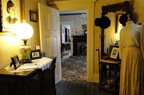 The Lizzie Borden House Fall River Massachusetts Scary Haunted