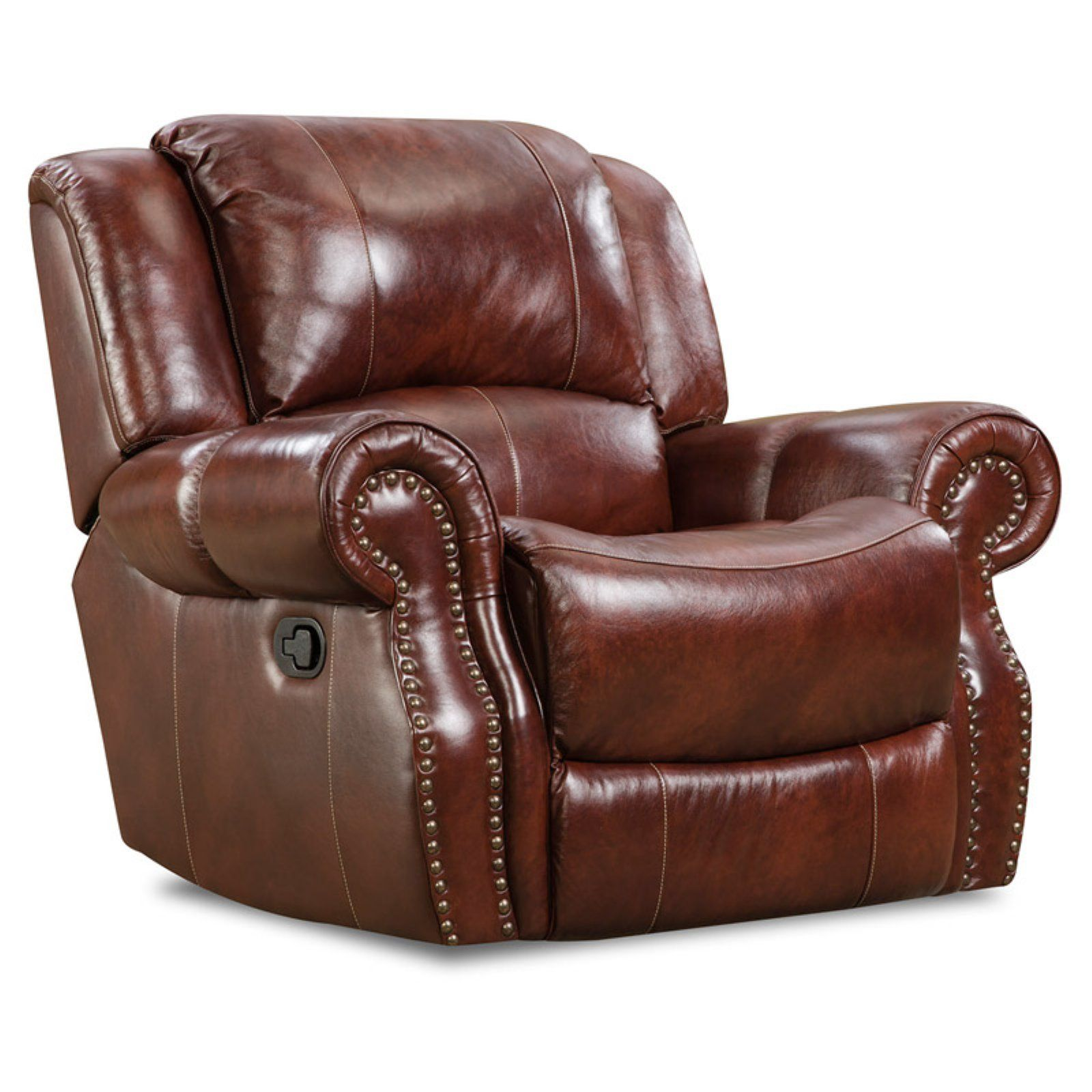 Cambridge Telluride Rocker Recliner Leather recliner