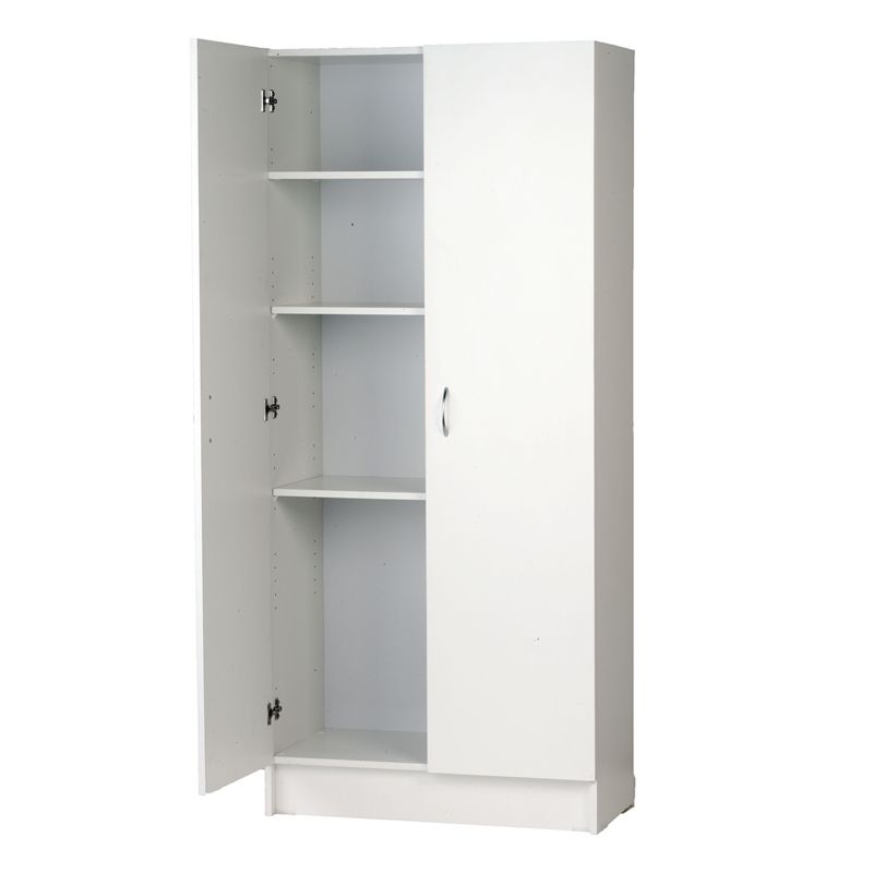 Bedford 900mm White 2 Door Pantry Cupboard Storage Pantry Storage Storage