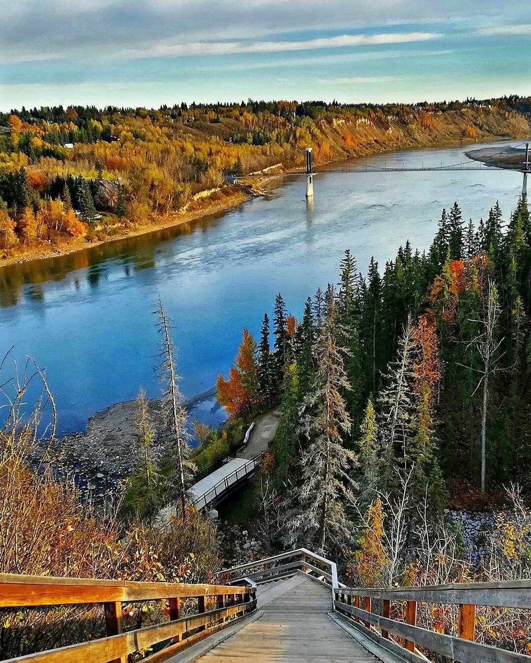 Edmonton: Wolf Willow Stairs In Edmonton