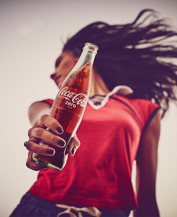 Publicidad Coca Cola Siente El Sabor Pin En Coke Cola