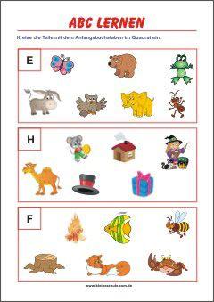 anfangsbuchstaben lernen | welches wort beginnt mit | abc lernen, lernen, buchstaben lernen