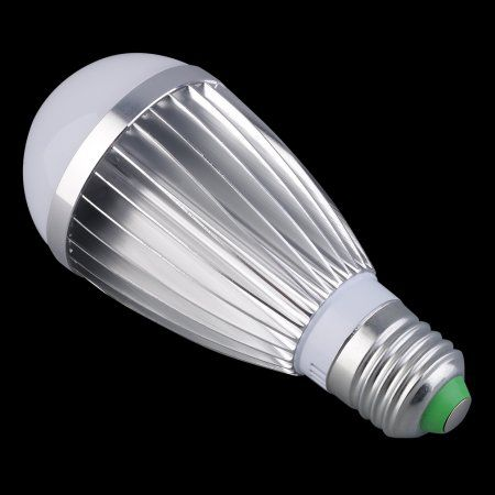 On Sale New 5 X 12v High Power Led Lamp Bulbs E27 7w White Light Energy Saving Energy Saving Lighting Lamp Bulb Power Led