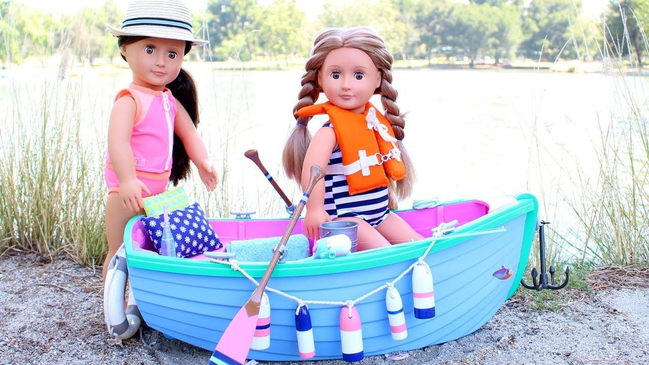 American Girl Doll Row Boat Playset Review American girl
