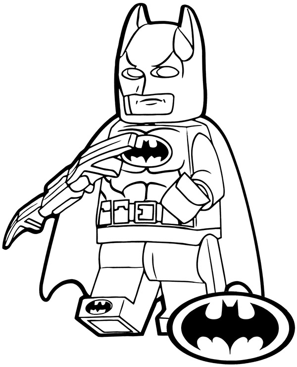 Lego Batman Minifig On Printable Coloring Page Sheet Lego Coloring Batman Coloring Pages Lego Coloring Pages