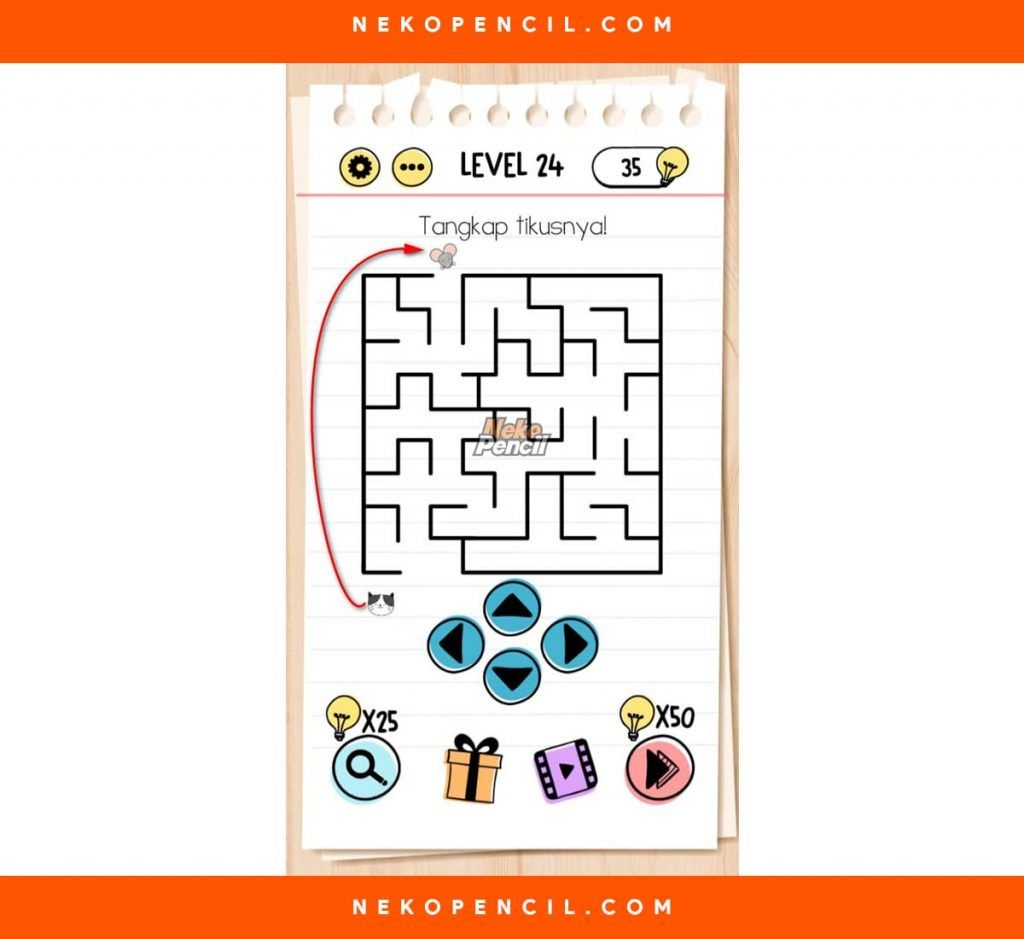 Kunci Jawaban Brain Out Level 23 - Peranti Guru