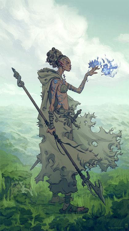 Beautiful Wandering Wizard Poc Fantasy