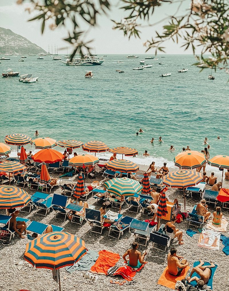 Best Positano Instagram Spots #wallcollage