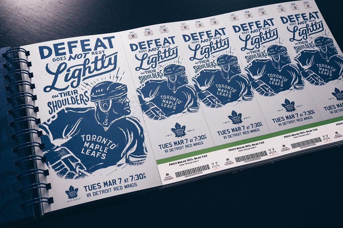 Toronto Maple Leafs 2017 Season Ticket Package on Behance