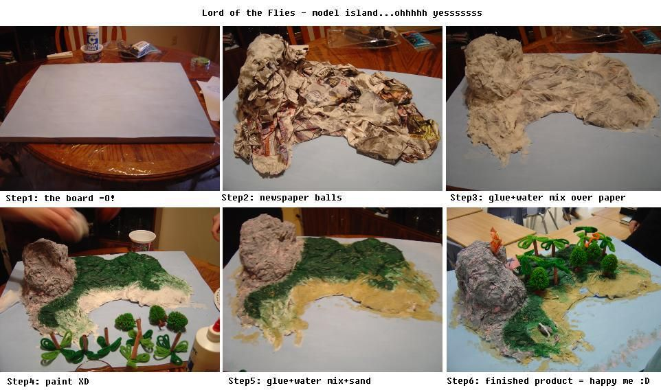 A 3d Map Of Lord Of The Flies Island Google Search Lord Of The Flies Diy Projects To Try Lord