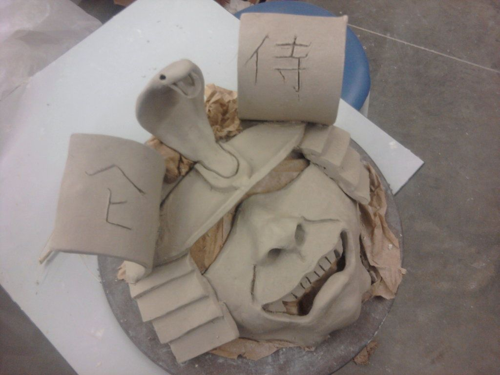 Clay Slab Projects   ceramic class project # 3 Slab built ...