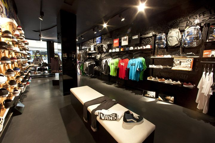 Vans store Munich 02 Vans flagship store, Munich | Shoes and clothes:) | Vans store, Vans, Van ...