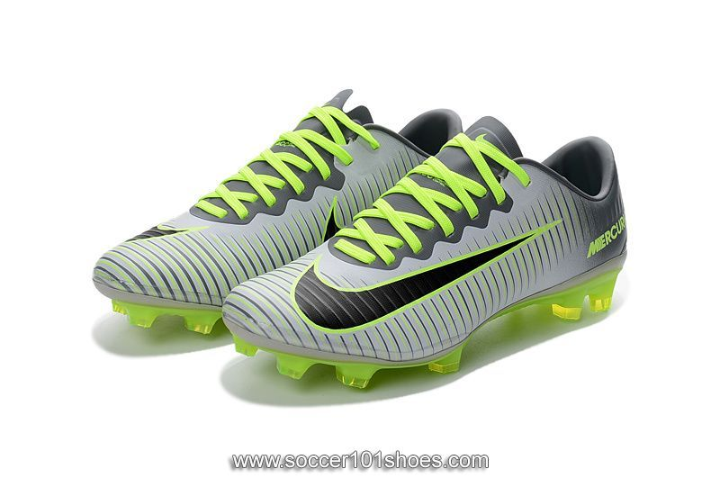 buy popular 7620d 1a495 ... new zealand nike mens mercurial vapor xi fg football shoe soccer cleats  fluorescent green grey 75.00