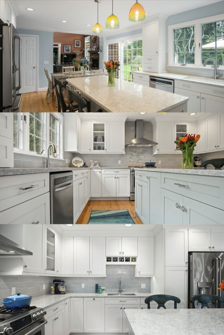 White And Mint Cabinets In 2020 Kitchen Fittings Kitchen And Bath Design Bath Design
