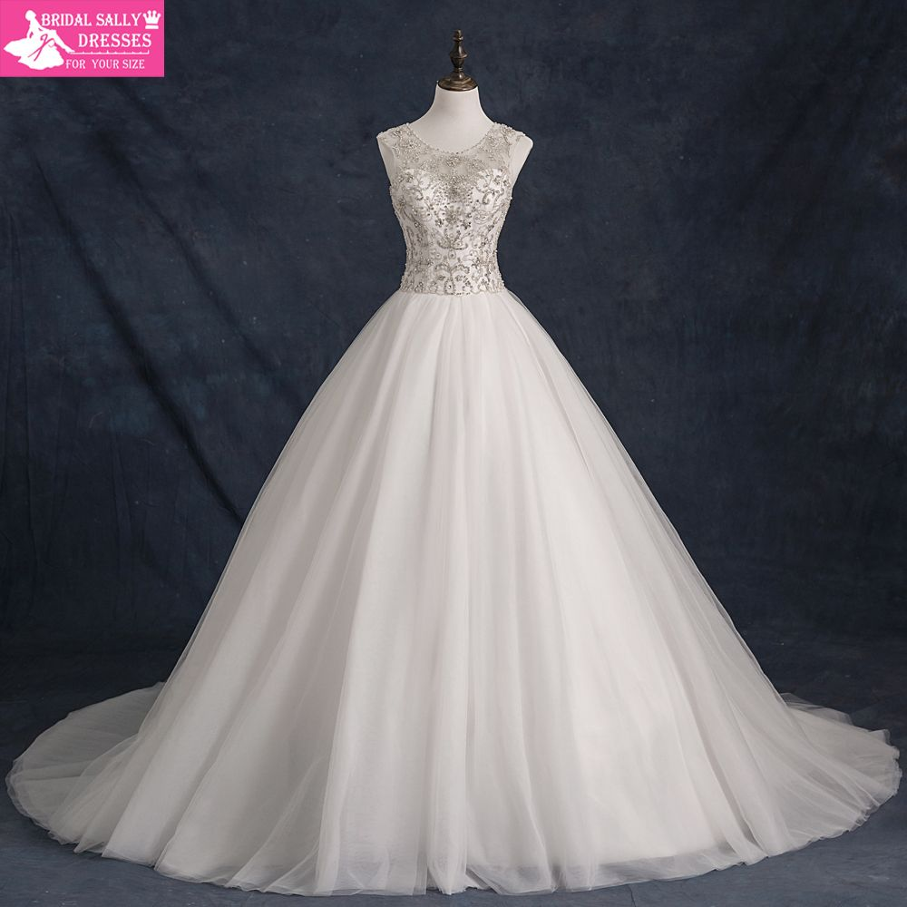 Free shipping buy best robe de mariee luxury beading wedding gowns
