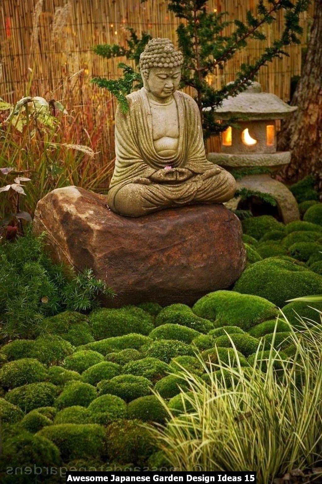 Awesome Japanese Garden Design Ideas Homyhomee Zen Garden Design Zen Garden Diy Zen Garden