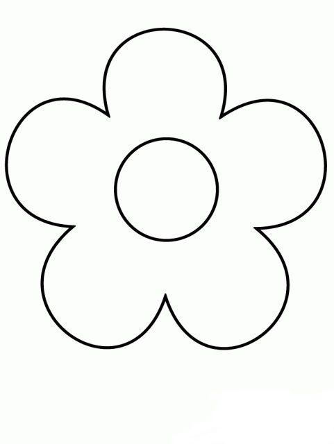 çiçek Kalıpları çiçek Boyama Diy