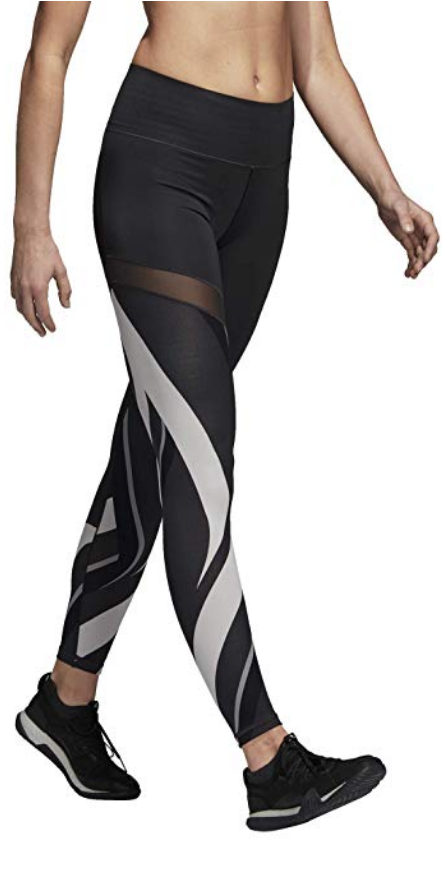 c77a3d8186db69 adidas Damen Ultimate High-Rise AOP Tights