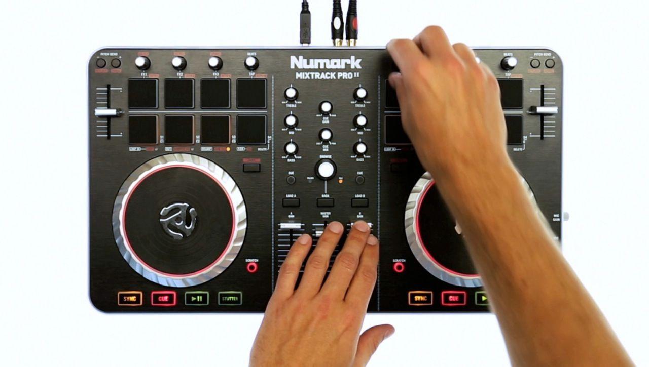 Numark Mixtrack Pro Ii Serato Compatible Dj Hardware Serato Com Hardware Dj Gear Pro