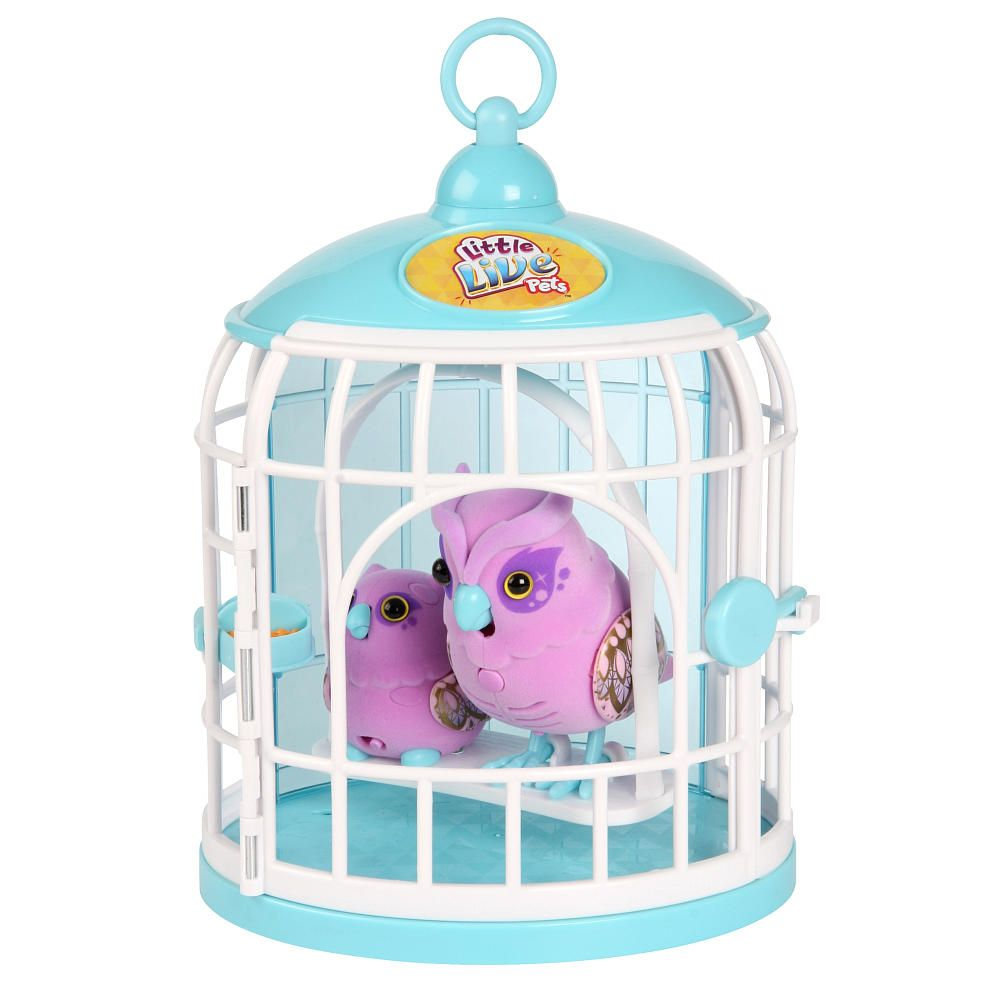 Little Live Pets Owl And Baby Bird With Cage 23 99 At Toys R Us Etc Little Live Pets Little Girl Toys Top Christmas Toys