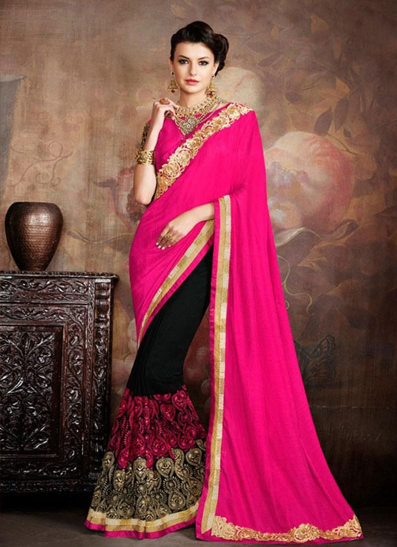Wedding and new year special women clothing ethnic wear saree online ...