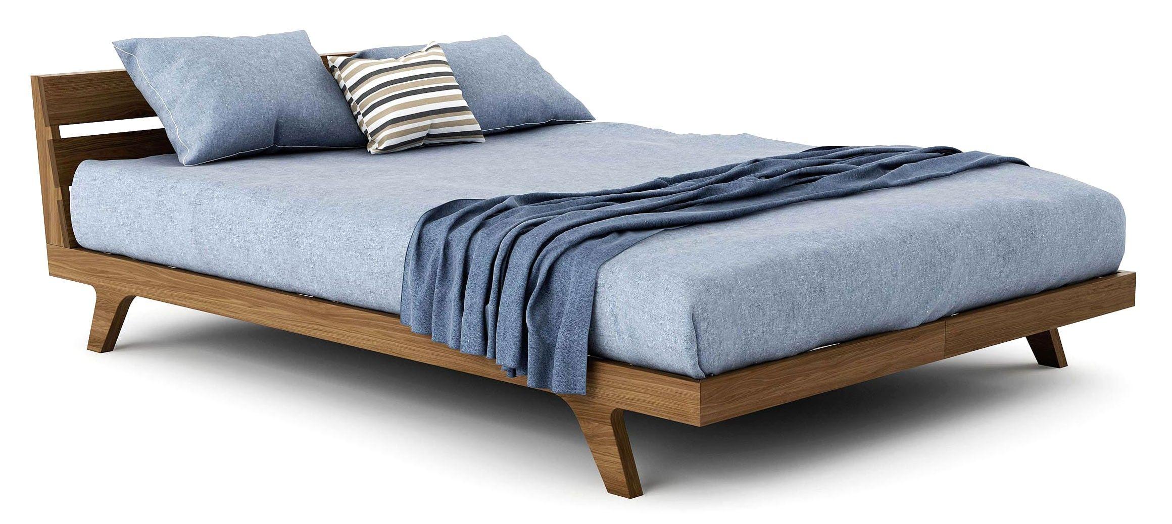 Palder Bed Wood Platform Bed Modern Bed Bed Frame