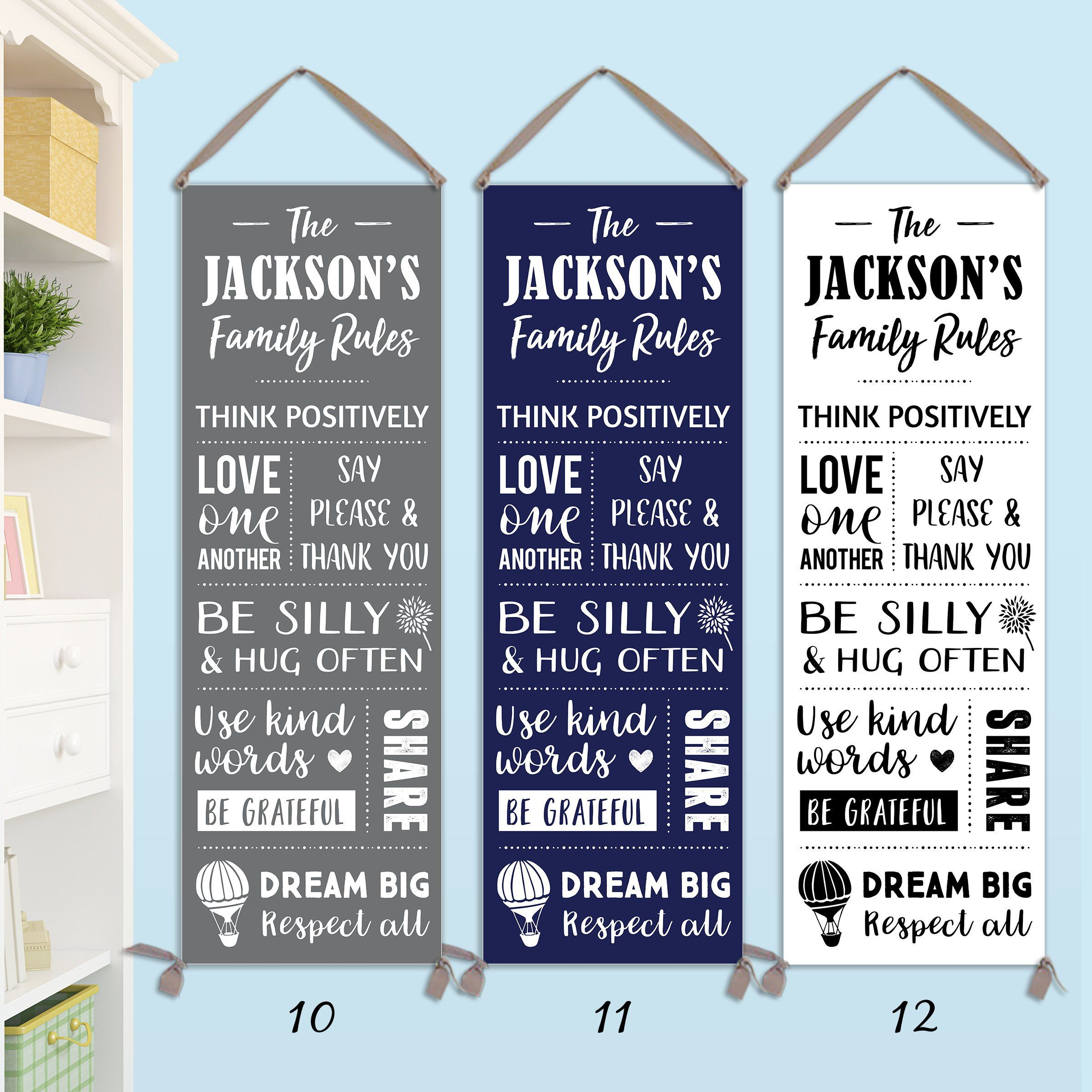 Family Rules Sign Personalized On Canvas Family Sign Family Rules Canvas Family Rules Wall Art Cg1 Family Rules Sign Family Rules Family Rules Wall Art