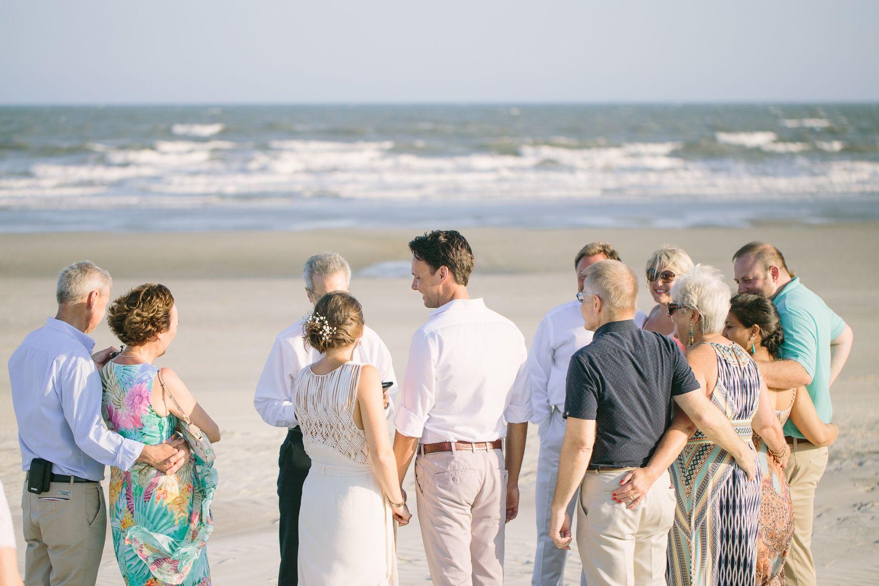 Beach Wedding On Kiawah Island Sc Charleston Photographer Studio Adele