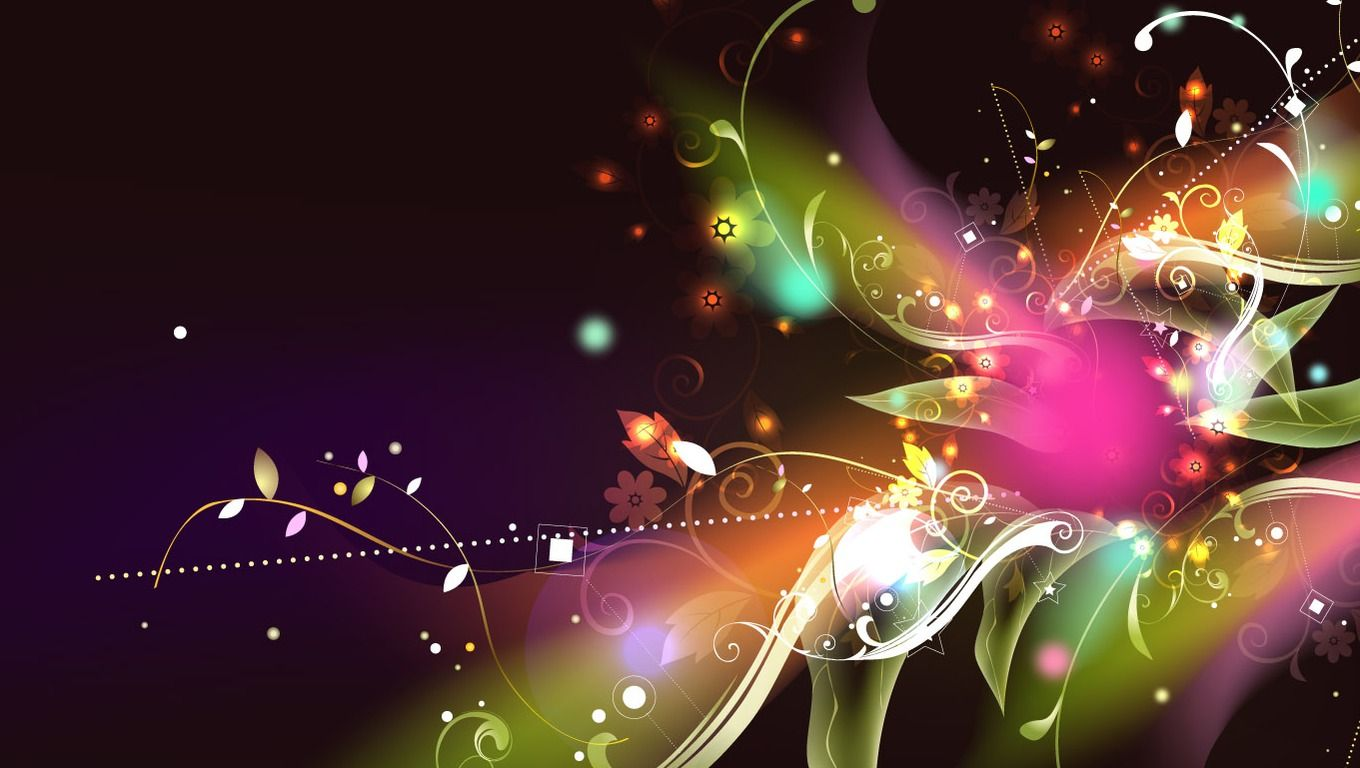 Cool Colorful Abstract Background Designs