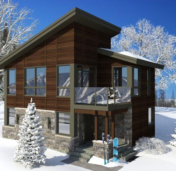 Moss des Neiges maison Mont Sainte-Anne modèle lu0027Hoganas Planos de