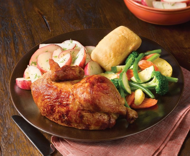 buy 1 individual meal, get 1 free at Boston Market food