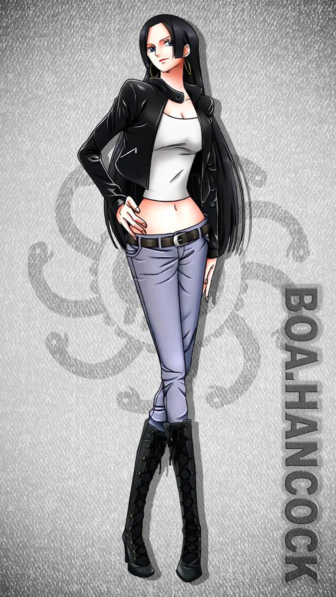 Boa Hancock Jeanist Wallpaper - One Piece by Kaz-Kirigiri on DeviantArt