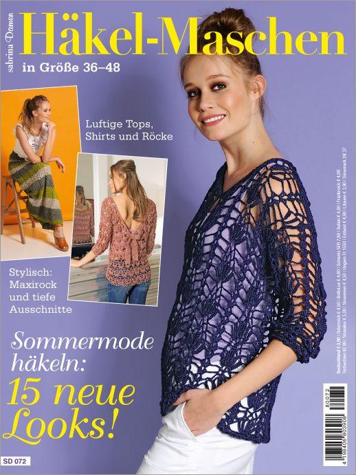 Sabrina Damen SD 072- Sommermode häkeln: 15 neue Looks Diese ...