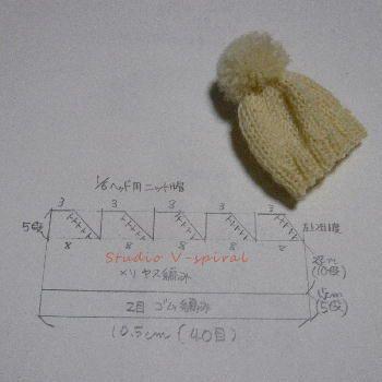かぎ針でメルちゃんの服を編みたいですが、なかな …