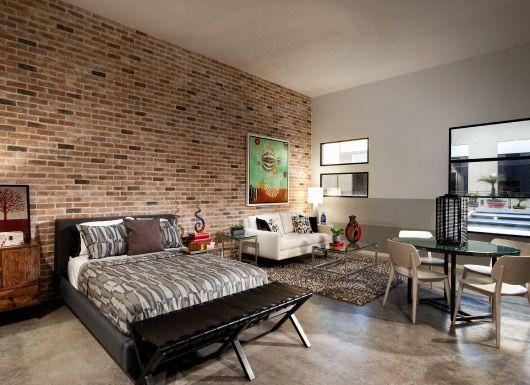 Fabric Bedhead Glass Table White Pieces Apartment Decor Luxury Apartments New York Loft