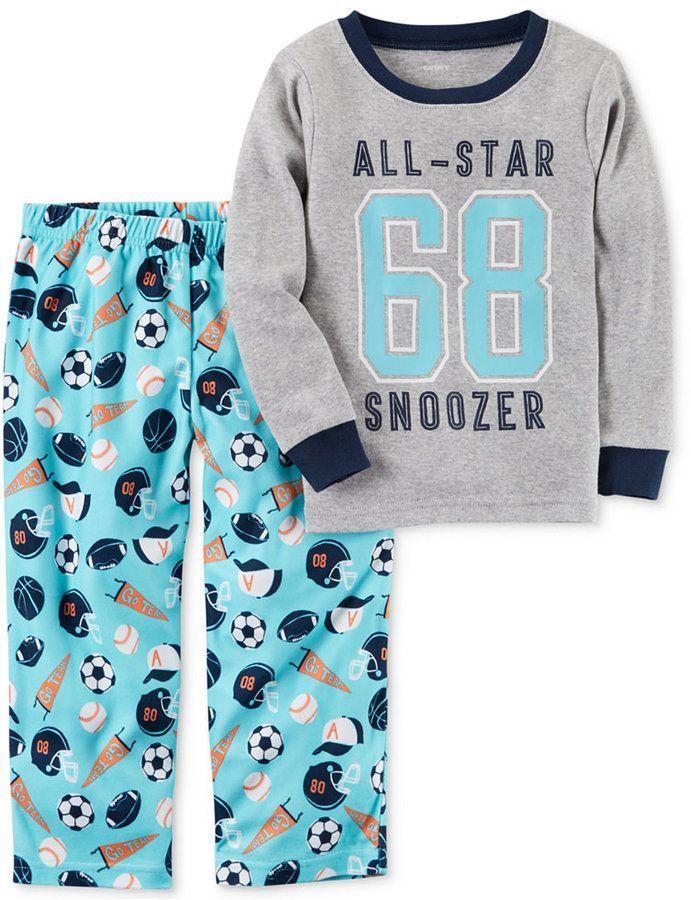 66981a2c7 Carter s 2-Pc. All-Star Snoozer Pajama Set