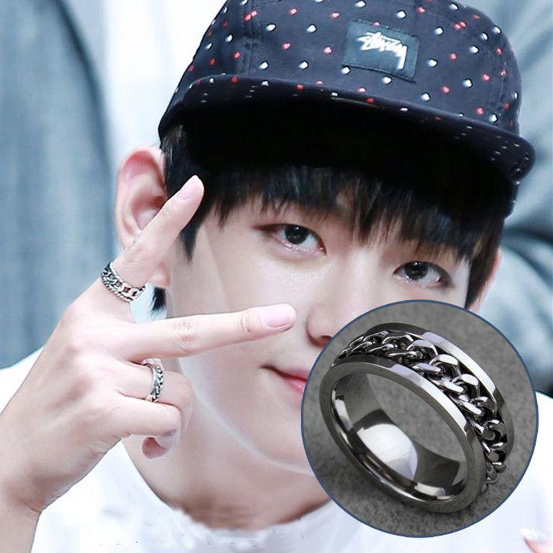 Youpop A.R.M.Y KPOP BTS K-POP Bangtan niños Anillo de Plata 2016 Nueva Joyería de La Manera Para Los Hombres Y Las Mujeres Del Envío Gratis
