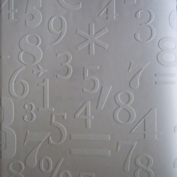 Onszelf Kids Wallpaper Anaglypta Math