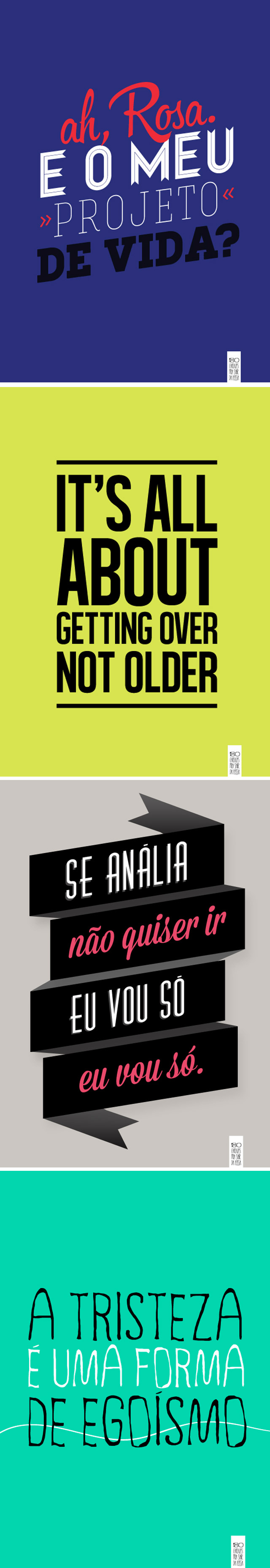It's all about getting over, not older