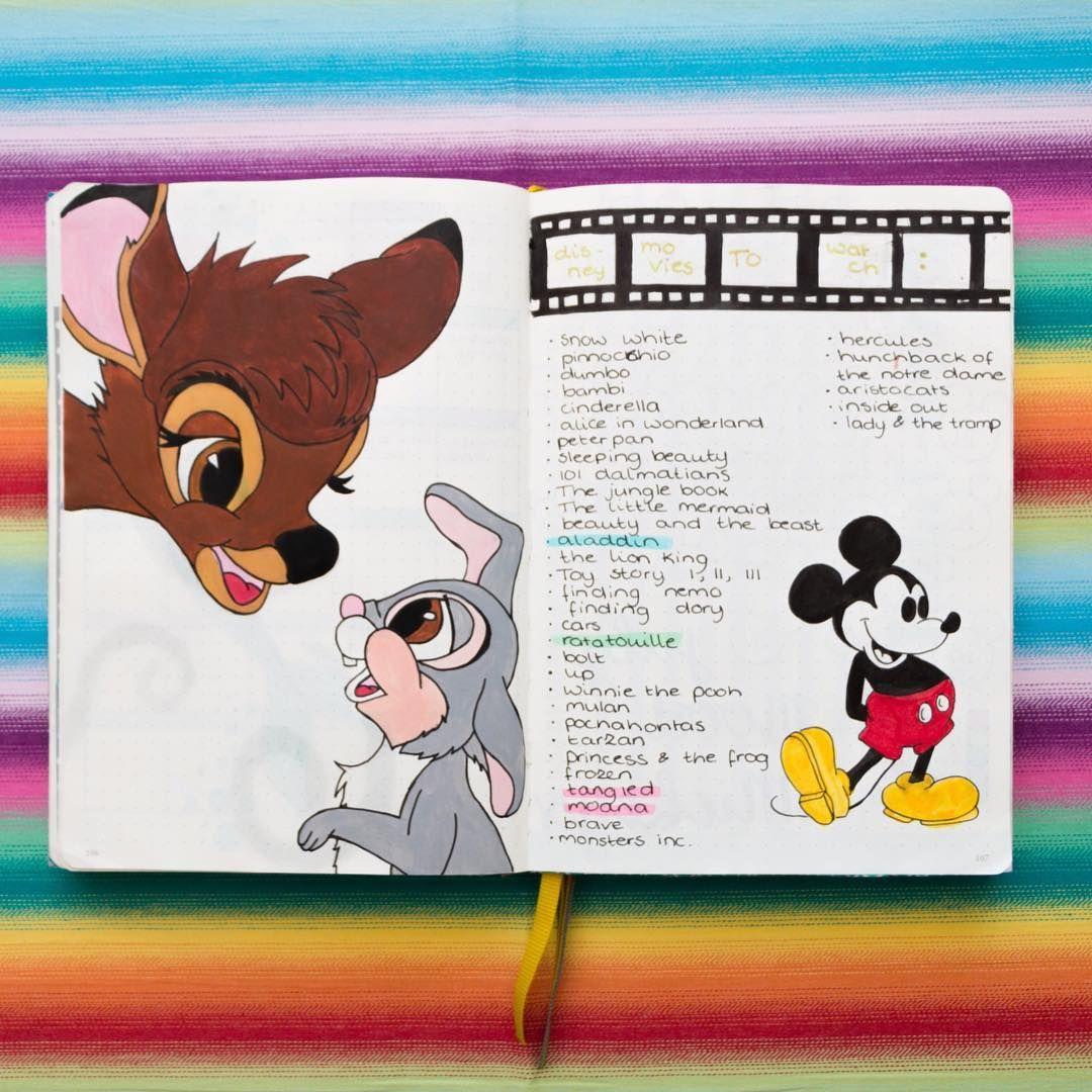Photo of 44 Magische, von Disney inspirierte Ideen für das Bullet Journal Ihr inneres Kind wird ohnmächtig werden ⋆ The Petite Planner