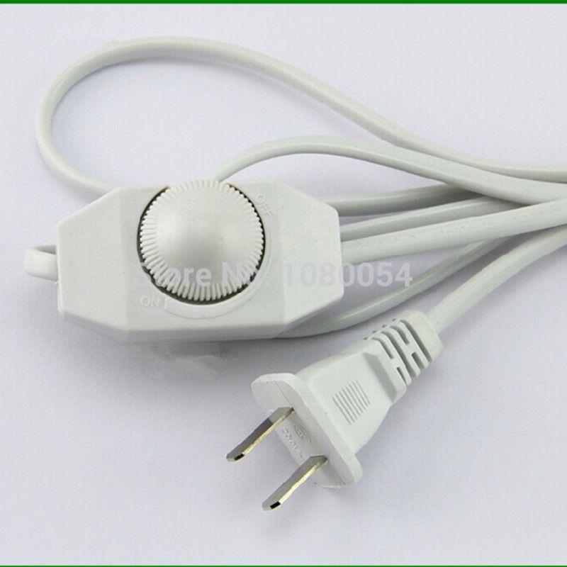 220 V בקר מתכוונן Diy הנורה מנורת שולחן אור Led מתג דימר לdimmable איחוד אירופי לחבר עם 1 8 M חשמל חוט Lamp Dimmer Switch Diy Lamp Led Dimmer Switch