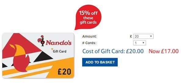 How to get a rare discount at Nandos