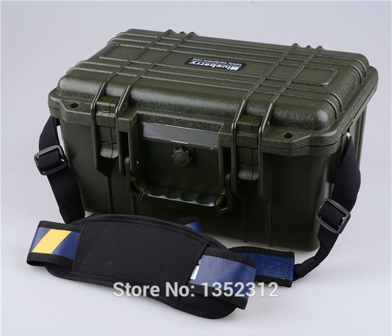 92.00$  Buy now - http://ali837.worldwells.pw/go.php?t=32695573688 - 341*249*180mm plastic tool box waterproof tool case IP68 security seal pistol case instrument case 92.00$