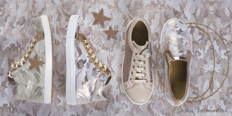 Summer 2015 Zecchino d'Oro coole Sneaker mit weisser Sohl ein Must have für Kinder