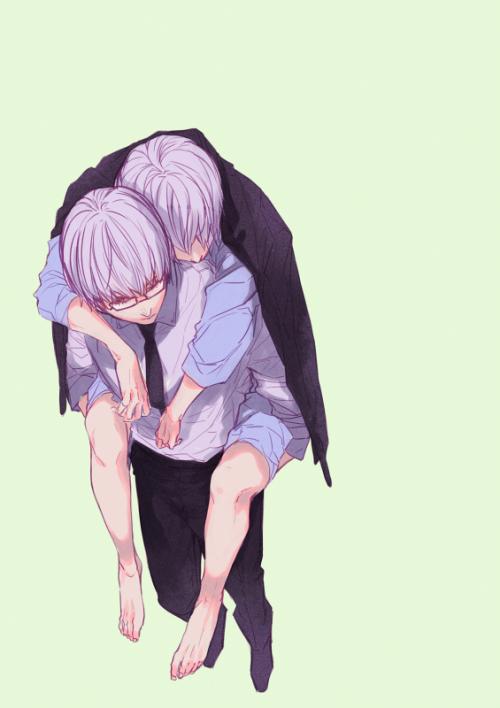 Tokyo Ghoul Arima and Ken