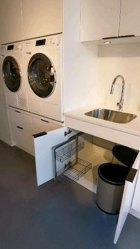Vaskerom inspirasjon fra Sigdal