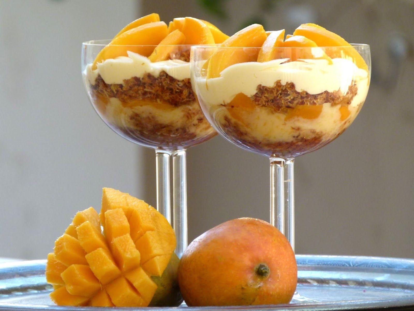 mango kunafa schichtdessert im glas rezept gypten ramadan egypt pinterest. Black Bedroom Furniture Sets. Home Design Ideas