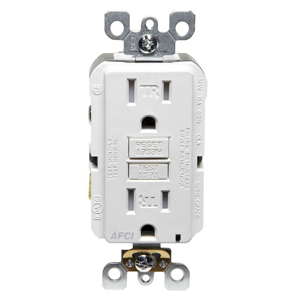 Wiring A Switch And Outlet The Safe Easy Way Home Improvement Light Fire Arc Fault Interrupters Which Stop Arcing That Can Cause Fires Are Required In Most Living Areas