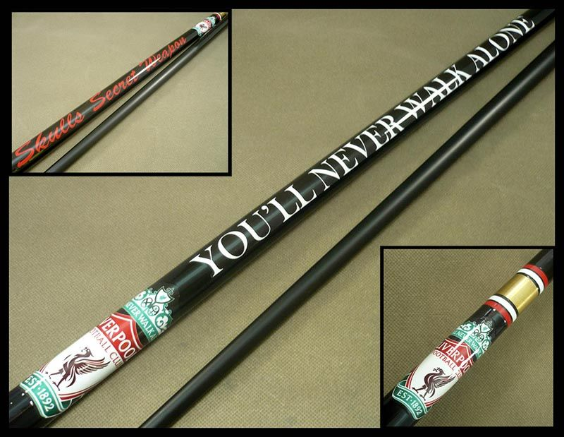 There 39 s no doubt about it liverpool is definitely the for Pool cues design your own